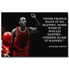 Michael Jordan Motivational Quote Silk Poster Art Print 12X18 24X36 Inch