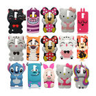 3D Cartoon Soft Silicone Gel Rubber Case Cover For LG X Power/Style/Cam K7/10/8