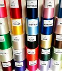 "100mm (4""0) extra wide Sash Ribbon Wedding Car Ribbon Chair Bows 27 Colours"