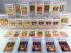 THE ULTIMATE PSA 10 1ST EDITION CHARIZARD COLLECTION NEAR COMPLETE POKEMON WOTC