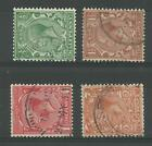 1913/19 Set of George V Block Cypher with Sideways Watermarks, Fine used.