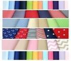100% Cotton Fitted Sheet Cot/Cot Bed/Toddler 70 x 140 , 70 x 160 , 80 x 160 cm