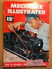 1951 Mechanix Illustrated October - Motorized Maxwell, Live Steam, Boat, NASCAR