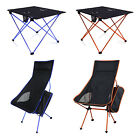 Portable Leisure Chairs Lightweight Seat Stool Fishing Table Camping Outdoor New