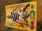 Autographed Signed 2011-12 SPL Adrenalyn XL 2011-12 Panini Football Trading Card