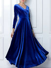 Velvet Formal Evening Dress Delivery In About 18 Days