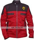Men's New Star War The Last Jedi Red Cotton Jacket