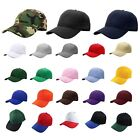Plain Blank Solid Adjustable Baseball Cap Hats ship in BOX