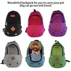 Pet Dog Carrier Portable Travel Front Mesh Backpack Backpack Head Out Adjustable