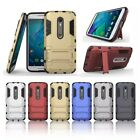 Armor Shock Proof Hybrid Case With Stand Cover For Motorola Moto Moblie Phones