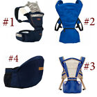 Muti-Type Cotton Baby Carrier Detachable Kid Anti-shock Hip Seat Backpacks HJ3