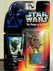 YODA W/ JEDI TRAINER BACKPACK & GIMER STICK STAR WARS FIGURINE MINT IN PACKAGE