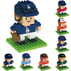 MLB Baseball 3D BRXLZ Player Puzzle Construction Block Set - Pick Team!
