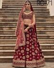 PAKISTANI WEDDING INDIAN BRIDAL LEHENGA CHOLI saree sari  DESIGNER LEHENGA