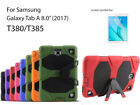 """For Samsung Galaxy Tab A 8.0"""" 2017 Heavy Duty Shock Proof case/Screen Protector"""