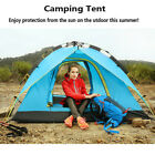 Automatic Pop Up Camping Hiking Tent 3-4 Persons Double Layer Waterproof 2 Color