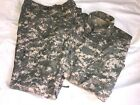US ARMY A2CU COMBAT AIRCREW  FLIGHT SUIT DIGITAL ACU SET TROUSER SHIRT MEDIUM L