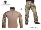 Emerson Assault Shirt Pants Tactical Military Combat Gen3 Uniform with Knee PadsTactical Clothing - 177896