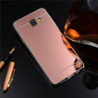 Luxury Ultra-Thin Silicone Gel TPU Mirror Case Cover For iPhone 6 6s 7 plus