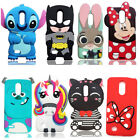 3D Cartoon Kid's Disney Soft Silicone Rubber Case Cover Skin For LG K8 K10 2017