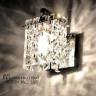 NEW Crystal LED Wall Lights Aisle Bedside light 1 Head Wall lamp Decor 6831H
