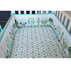 4Pcs/set Animal Baby Infant Cot Crib Bumper Toddler Nursery Safety Protector US