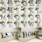 Usa A-z Alphabet Love Home Letters 3d Mirror Acrylic Wall Stickers Bedroom Decor