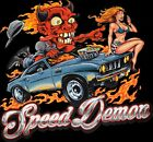 Dodge Speed Demon T Shirt Hot Rod Monster Sexy Girl Mens Small to 6XL $10.4 USD on eBay