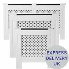 Oxford Radiator Cover White Traditional MDF Wood Cabinet Grill Furniture Sizes