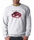 Gildan Long Sleeve T-shirt Baseball Gear Eat Sleep Play Coll