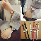 Women's Girls Casual Watch Small Dial Leather Band Quartz Analog Wrist Watches image