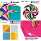 Permanent Self Adhesive Vinyl Sheets Lot Sheet 12x12 For Cricut Silhouette Came