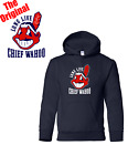 Cleveland Indian Long Live Chief Wahoo Navy Sweatshirts S to 5XL THE ORIGINAL on Ebay