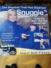 SNUGGIE, THE BLANKET THAT HAS SLEEVES NEW IN THE BOX ONE SIZE FITS ALL
