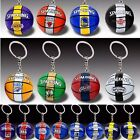 Spalding NBA Basketball Team Logo Mini Keychain Celtics Lakers Rocket Warriors