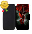 King Arthur Sword Leather Wallet Phone Case iPhone 5 6 7 8 X +