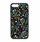 Phone Case Floral Print iPhone 4 5 6 7 8 X Plus + Galaxy S6 S7 S8 Note Edge