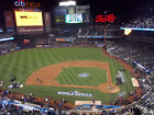 New York Mets 2 Tickets Monday 4/16/18 vs Nationals 1st Row Seats