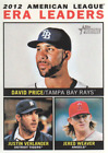 2013 Topps Heritage Baseball Card #1-233 - Choose Your Card
