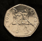 2016, 2017, 2018 Uncirculated Beatrix Potter 50p Fifty Pence - Choose Your Coin <br/> Peter Rabbit, Jemima Puddleduck, Jeremy Fisher etc