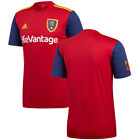 adidas Real Salt Lake RSL  MLS 2016 Soccer Jersey Red - Gold - Navy Kids - Youth