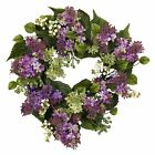 Nearly Natural 4786 Hanel Lilac Wreath- 20-Inch- Purple/Pink/Green