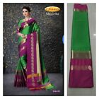 Pakistani Traditional Tussar Silk Saree Party Wear sari indian wedding bollywood