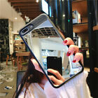 Luxury Mirror Cute Pattern Hybrid Hard Back Case Cover For iPhone 8 6s 7 Plus