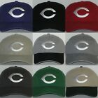 Cincinnati Reds Polo Style Cap ~Hat ✨CLASSIC MLB PATCH/LOGO ✨9 HOT COLORS ✨NEW on Ebay
