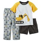 Carter's Baby Boys 3 Piece Construction Pajamas - NEW/NWT