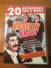 Classic Variety Shows (DVD) 20 Episodes on 3 DVD's over 13 Hours...202