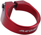 Anodized Coloured  Mountain Bike / Road Seat Clamp Seatpost / Seatpin Clamp