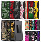 Rugged Case+Holster Clip Cover for ZTE Max XL Blade Max 3 Blade X Max Z983 Z981