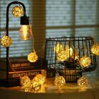 20 LED Battery Powered Starry Fairy Strand Lights Christmas Decoration Indoor